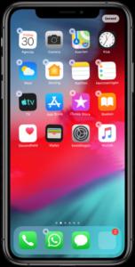 App verwijderen iPhone