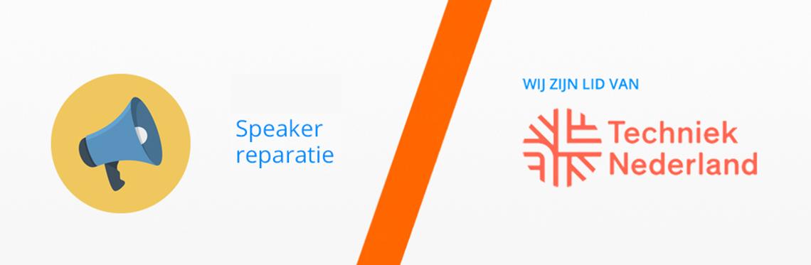 Speaker Reparatie