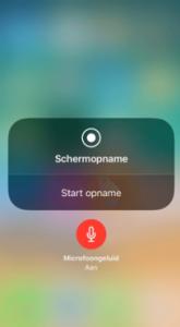 iPhone opname